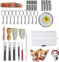 Needle Felting Kit - Needle Felting Needle - Wool Felt Tools - Felting Foam Starter kit Mat Awl Needles with Handy Case