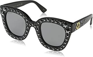GG 0116 S- GG0116S Cat Eye Sunglasses 49mm