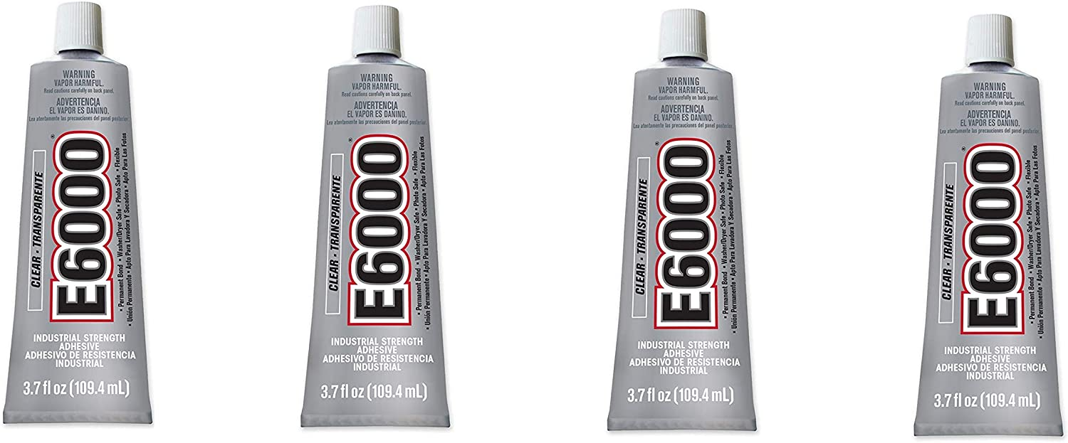 E6000 Craft OFFicial site Low price Adhesive 3.7 Fluid Pack Ounces 4