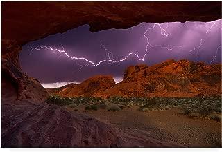 Trademark Fine Art Desert Storm by Darren White Photography, 30x47