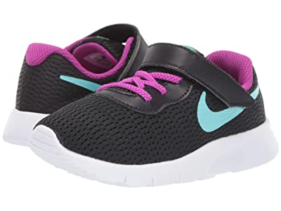 Nike Kids Tanjun (Infant/Toddler) (Black/Aurora Green/Hyper Violet) Boys Shoes
