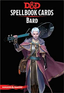 Dungeons & Dragons - Spellbook Cards: Bard (128 cards)