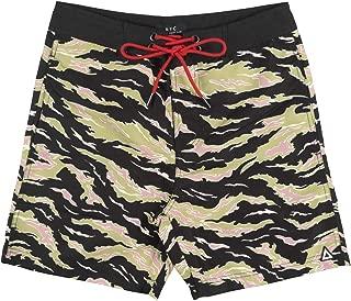 Asphalt Yacht Club Tiger CAMO Board Shorts Swimwear