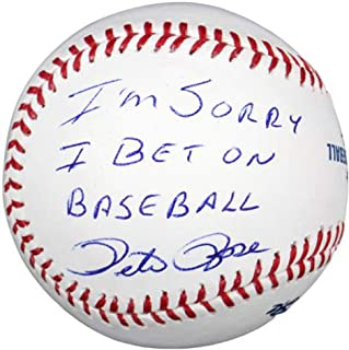 Best pete rose signed baseball value Reviews