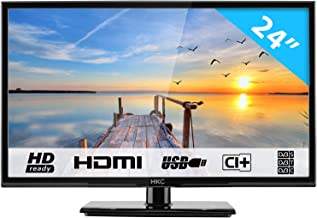 "HKC 24C2NB 24"" (60.50cm) LED TV ( FHD 1920x1080, TRIPLE TUNER, DVB-T/T2/C/S/S2, H.265 HEVC, CI+, Mediaplayer via USB [Energy Class A]"
