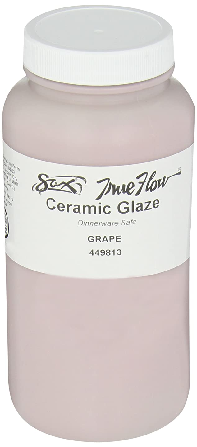 Sax True Flow Gloss Glaze, Grape, 1 Pint