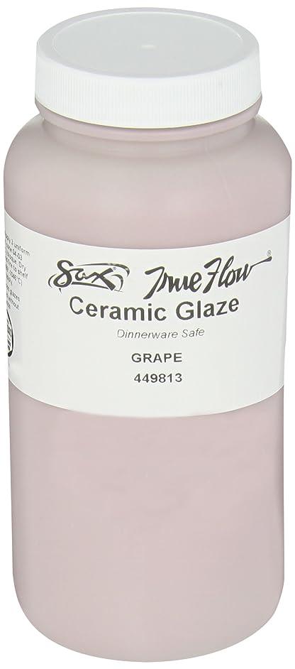 Sax True Flow Gloss Glaze, Grape, 1 Pint