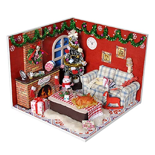 Christmas Dollhouse Decorations.Christmas Decorations For Doll Houses Amazon Co Uk