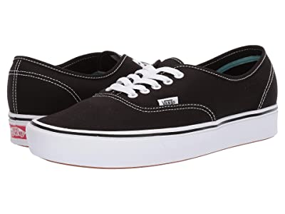 Vans ComfyCush Authentic ((Classic) Black/True White) Athletic Shoes