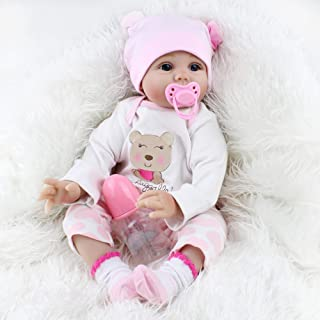 Best Reborn Baby Dolls Lucy, 22 inch Realistic Girl Doll, Lifelike Soft Vinyl Weighted Gift Set Review