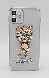 【Yoco Joy】Galaxy S6 edge SC-04G docomo/SCV31 au専用デコ ケース【猫】通販 ブランド 保護フィルム付き!
