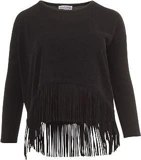 Fringe Sweater Top - Size 20