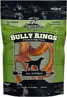 3Pk - Redbarn Bully Rings, Net Wt 3.2 Oz