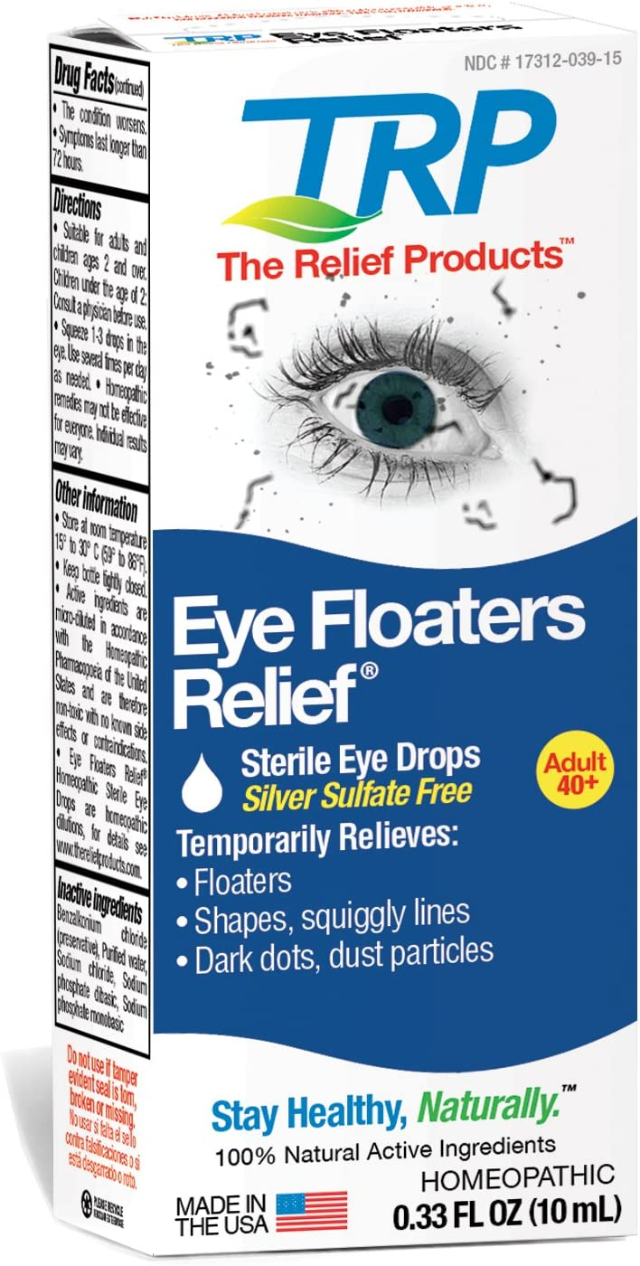 The Relief Products Eye Floaters Max 68% OFF Drops fl. Max 50% OFF oz 0.33