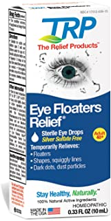 The Relief Products Eye Floaters Eye Drops, 0.33 fl. oz, One Color