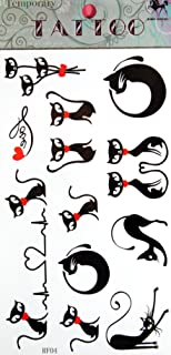 SPESTYLE waterproof non-toxic temporary tattoo stickersnew release new design cartoon cat temporary temporary tattoos