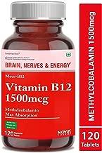 Carbamide Forte Methylcobalamin (Vitamin B12) 1500 mcg Supplement - 120 Veg Tablets