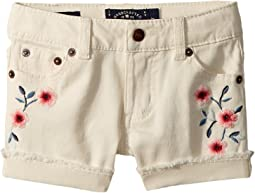 Bobbi Denim Shorts in Natural (Toddler)