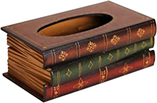 Fantastic Job Hand Crafted Wooden Refillable Rectangular Tissue Holders,26.21611CM