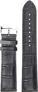 womens Leather Calfskin Watch Strap Black T600043491