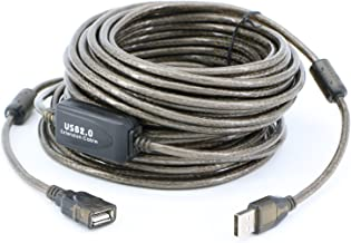 50ft USB 2.0 Extension /& 10ft A Male//B Male Cable for Lexmark CX310n Color Laser Multifunction Printers