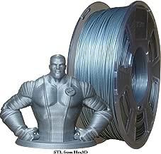 Stronghero3D 3D Printer Filament PLA Filament Galaxy Glitter Sparkling Silver 1.75mm Net Weight 1kg(2.2lb) Accuracy +/-0.05mm