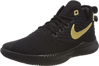 Men's Lebron Witness III Basketball Shoe Black/Metallic Gold Size 10 M US