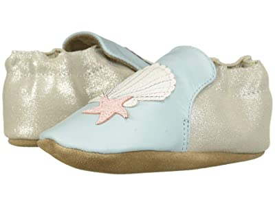 Robeez Shell and Sand Soft Sole (Infant/Toddler) (Light Blue) Girl