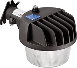 TORCHSTAR Dusk-to-Dawn LED Outdoor Barn Light (Photocell Included), 50W (400W Equiv.), 6000 lm Ultra-Bright Area Light, 5000K Daylight, DLC & ETL-Listed Yard Floodlight, Wet Location, 5-Year Warranty