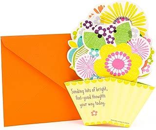 Hallmark Get Well Card (Pop Up Flowers)