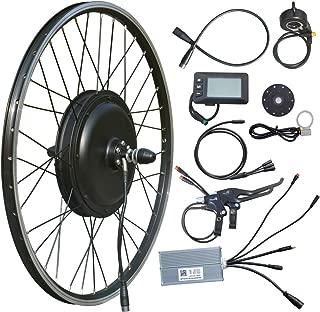 VTUVIA 48V 1000W Electric Bike Conversion Kit, 26