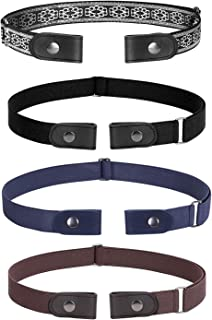 No Buckle Invisible Stretch Belt Buckle-FreeElasticBelt for Women and Men