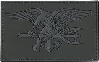 LEGEEON Blackout ACU US Navy Seals DEVGRU Insignia Morale NSWDG USSOCOM PVC 3D Hook&Loop Patch