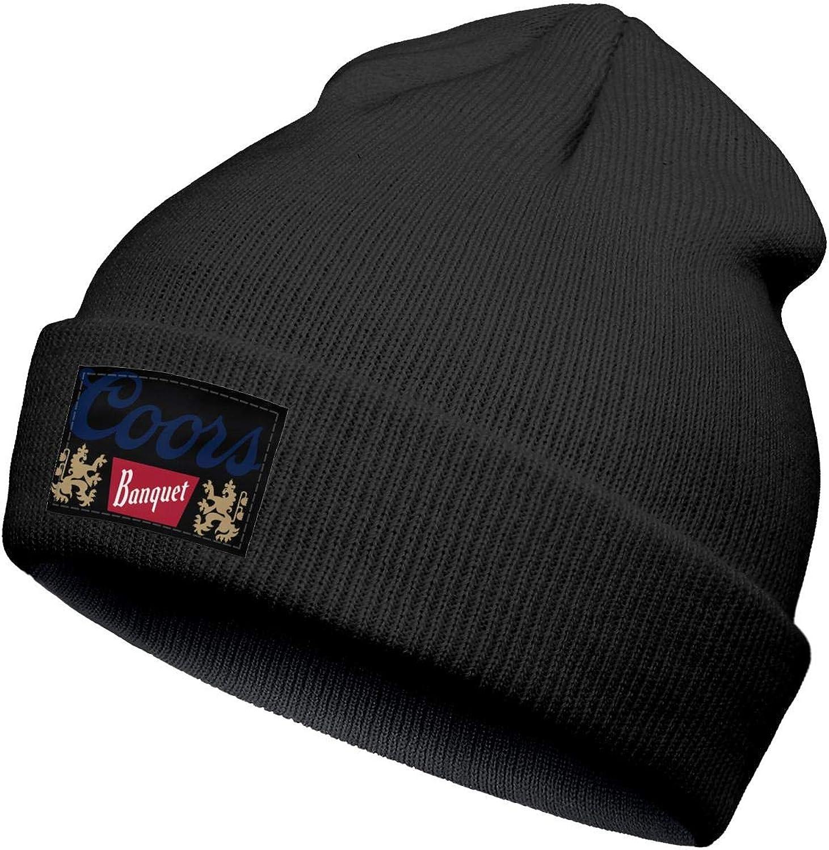 jdadaw Boyes Warm Slouchy Beanie Hats Woolen Coors-Banquet-Beer Winter Ski Beanie Skull Hats