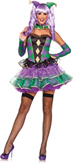 Women's 5 Piece Mardi Gras Sweetie Costume