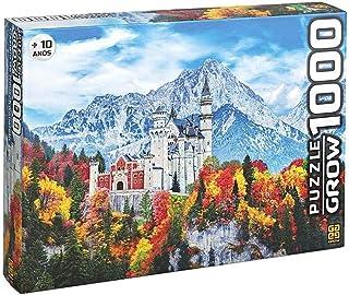 Grow - Castelo de Neuschwanstein Quebra-Cabeça 1000 Peças, 10+ Anos, Multicor, (Grow 3734)