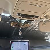 Custom-fit Windshield Sun Shade AutoTech Zone Sunshade for 2020 Lincoln Aviator