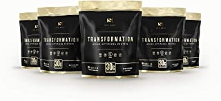 Transformation Protein | Premium Bioactive Protein Formula Blend | Collagen Peptides | Egg White & Plant Protein | MCT Oil | BCAA Amino Acids | Probiotics & Enzymes for Gut Health & Immune Support