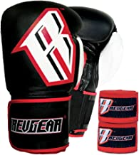 Revgear S3 Sentinel Boxing Gloves and Elastic Hand Wraps Bundle