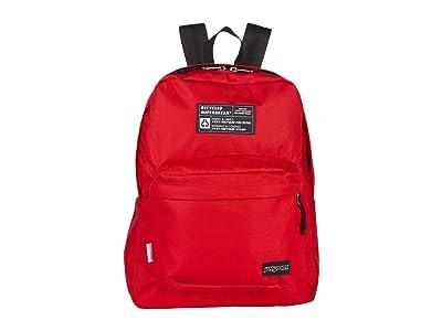JanSport Recycled Superbreak(r) (Red Tape) Backpack Bags