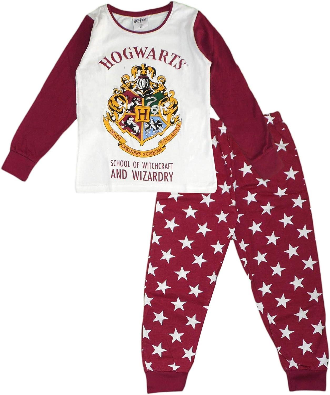 Harry Potter - Conjunto de pijama de algodón de manga larga: Amazon.es: Ropa y accesorios