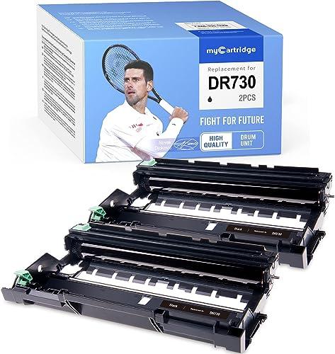 2021 MYCARTRIDGE sale popular Compatible Drum Unit Replacement for Brother DR730 DR-730 for HL-L2370DW HL-L2350DW MFC-L2710DW DCP-L2550DW MFC-L2750DW HL-L2390DW HL-L2370DWXL (2 Black) online