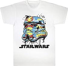 Star Wars Classic Stormtrooper Bright Camo Helmet Camiseta de los Muchachos | mercancía Oficial