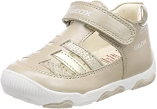 Geox B New Balu' Girl A, Zapatos Primeros Pasos Niñas