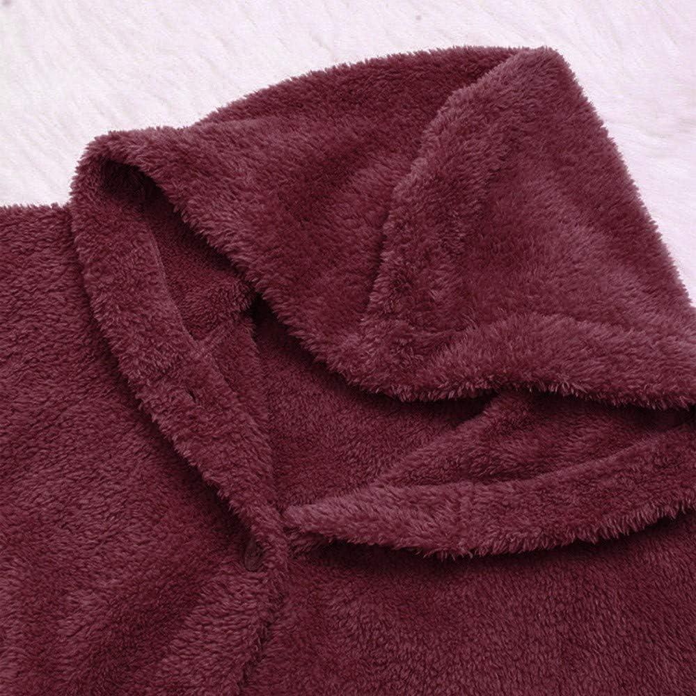 Wtouhe Sweat /à Capuche Femme 2020 T-Shirt Imprim/é Chat Pas Cher Sweatshirt Polaire L/âche Manteau Chaud Moelleux /Épais Veste Hiver Pullover Mode Outwear Chic Saint Valentin Cadeau Grande Taille