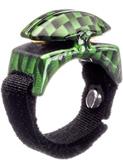 Line Cutterz Ring - Green Carbon Fiber Edition