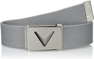 Men's Solid Webbed Belt