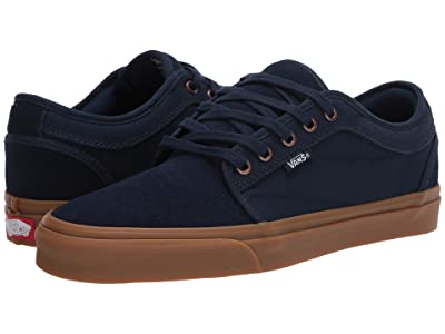 Vans Chukka Low (Dress Blues/Gum) Skate Shoes