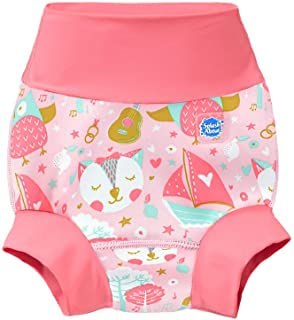 Splash About New and Improved Happy Nappy Swim Diapers (Owl & The Pussycat, 2-3 Years)