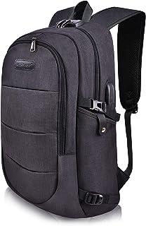 Laptop Backpack, MODAR Computer Bag, Anti Theft Backpack College Bag, Slim Business Backpack Fits for 15.6 Inch Laptop USB Charging Port Backpack for Women&Men